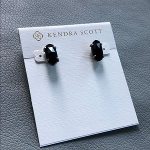 Kendra Scott Betty Studs black and silver